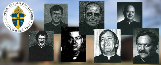 Joliet Review Board's List of Accused Priests since the 1960's